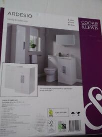 COOKE & LEWIS VANITY & TOILET UNIT (BRAND NEW)