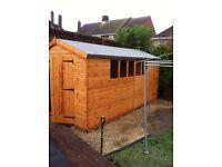 Garden shed 16x8 stunning heavy duty
