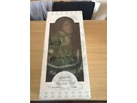 "Leonardo Collection 14"" Porcelain Doll ""Delores"" (BOXED)"
