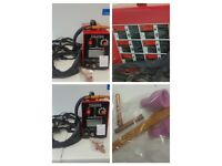 TIG 200A Welder and Plasma Cutter with 2 Gas Cannisters, never used all fittings include ! !!