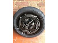 NEW CONTINENTAL space saver wheel and tyre for VAUXHALL ASTRA + TOOL KIT