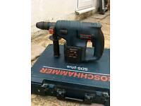 Bosch 24v ads hammer drill with 3×3ah battery (dewalt makita hilti milewauki ryobi Hitachi)