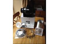 New manrose bathroom extractor kit