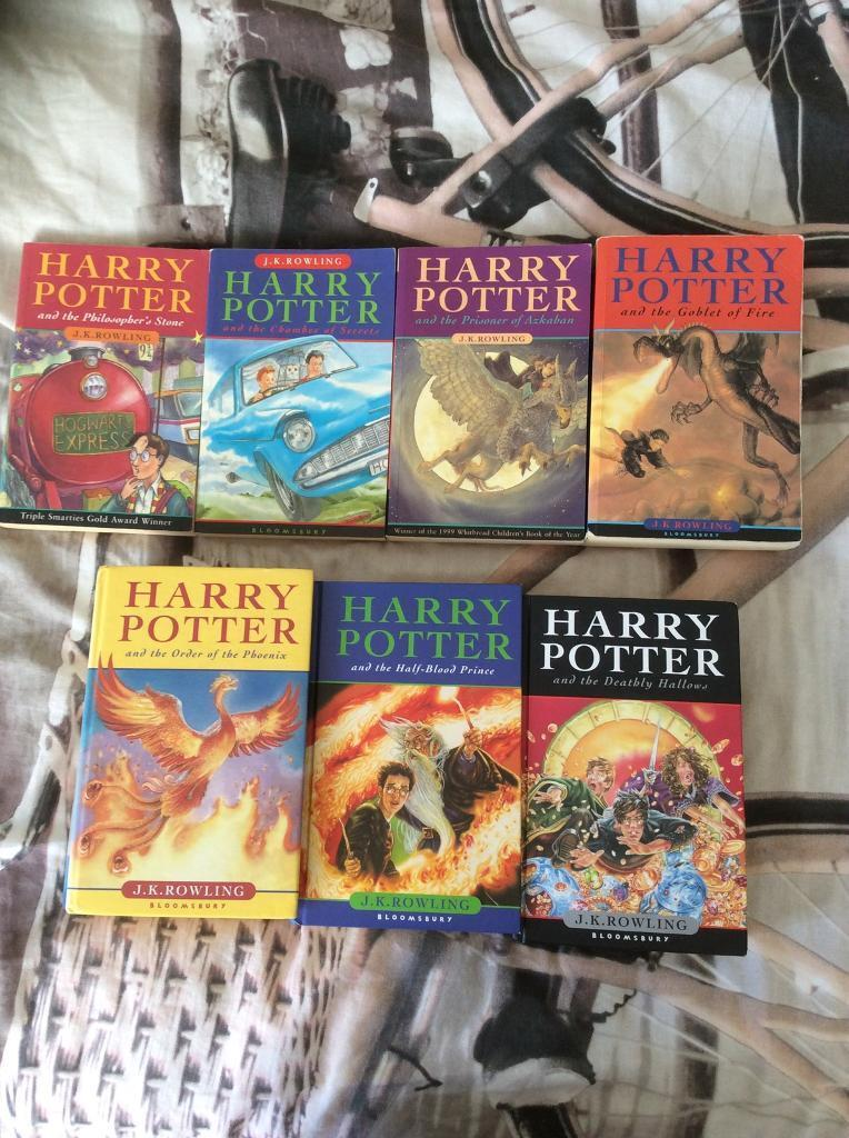 Harry Potter Complete Book Set Used 1250 In Canvey Island