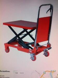 Table élevatrice 36 '' capacité 330 lbs