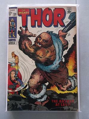Mighty Thor Vol. 1 (1966-2011) #159 FN/VF