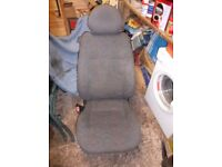 vauxhall combo c corsa c front seats (listing for both seats)