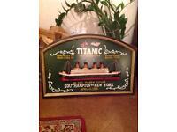 Titanic wall plaque
