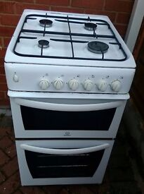 Indiset GAs cooker 50cm Wide, Excellent condition grill/Oven