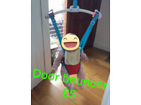 Babys Door Bouncer .. Excellent Condition