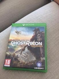 Xbox one game, tom Clancy ghost recon wildlands