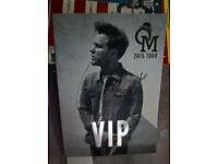 OLLY MURS TOUR PROGRAMME,SIGNED,VGC