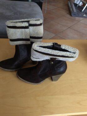 Stiefel, Stiefeletten Tamaris Damen Größe 40 Herbst Winter in Lohmar 5e59f282d7