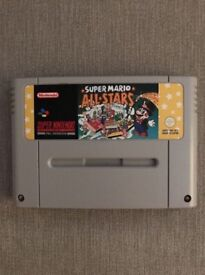 Super Mario All Stars For Super Nintendo (SNES), Classic, Vintage
