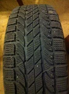 "4 - 2007-2013 Nissan Altima 16"" OEM Steel Rims (5X114.3) with BF Goodrich Winter Slalom Tires- 215/60 R16"