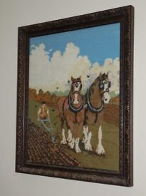 Tapestry in Magnificent frame