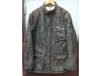 Belstaff Blaster wax motorcycle Jacket