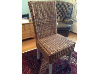 Four dining chairs great condition
