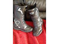 Motorcycle boots size 9/10