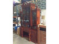 Big Handmade Real Wood Display Unit