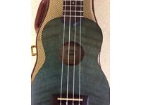 KALA KA-SEM UKULELE EXECELLNT CONDITION & STAGG GOLD TWEED HARD CASE