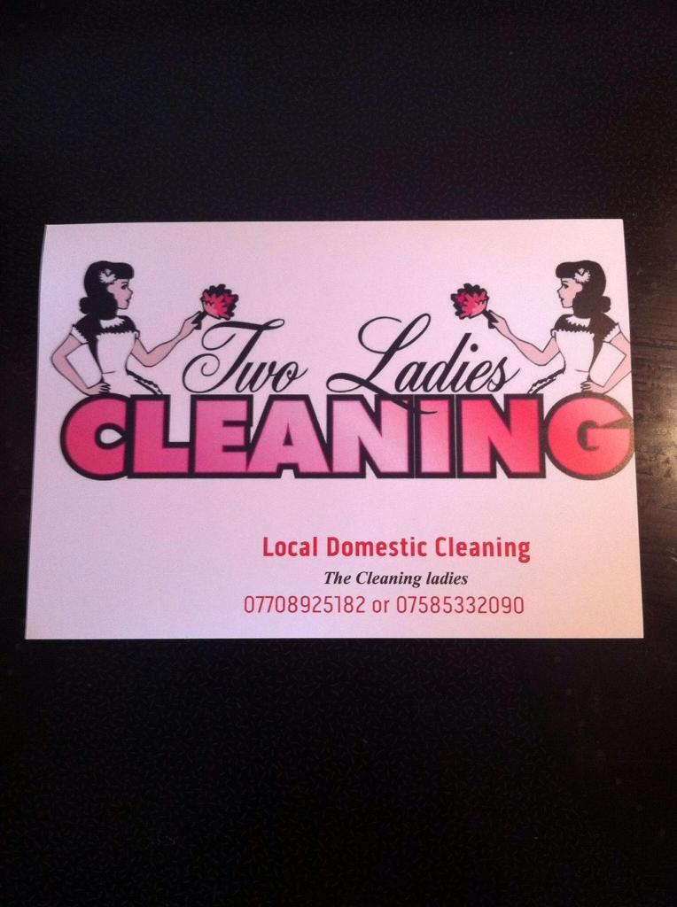 The Cleaning Ladies ... Cleaners