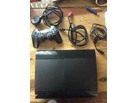 Sony PlayStation 3, super slim 500gb, 10 games