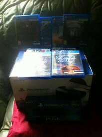 PlayStation VR + PlayStation Camera + 8 Games