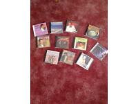 Selection of music CD's for sequence dancing.
