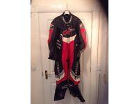 Alpinestars one piece race suit - great condition £200 - bike -biker - racing - motorbike