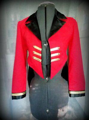Ringmaster Costume Jacket & Bow Tie