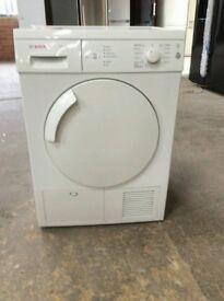 Bosch Classixx Sensor Condenser Tumble Dryer, 7kg Load, B Energy Rating