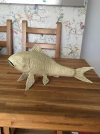 Fish figure cast iron