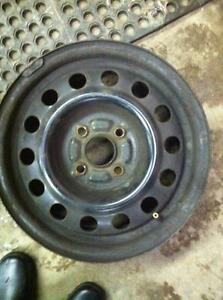 "4 - Toyota Corolla 14"" Steel Rims (4X100)"
