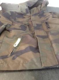 Boys camouflage pattern jacket