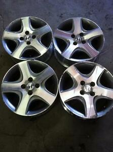 "4 - 2005 Honda Civic 15"" Alloy Rims (4X100)"
