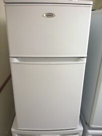 Igenix IG3860 Slimline 46cm wide undercounter Fridge Freezer in White