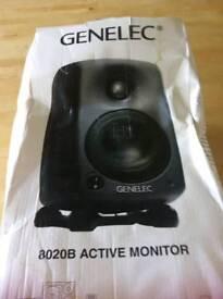 Genelec speaker 8020b