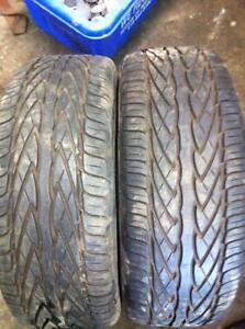2 - Toyo All Season Tires with Good Tread - 195/50 R16