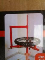 MOTORCYCLE AND CAR PORTABLE TIRE CHANGER FOR SHOP OR TRAILER