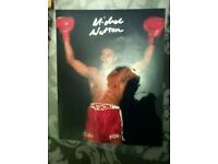 Signed Michael Watson picture