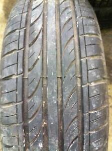 """4 - Honda Civic 14"""" 4 Bolt (4X100) Steel Rims with Very Good Aoteli All Season Tires - 185/65 R14"""