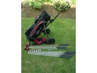 Full set of Brand New LEFT HAND Nexxtt Zone golf clubs