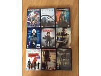 9 DVDs bulk