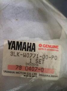 87-88 YAMAHA FZR750R FZR1000 OEM SOLO SEAT COVER W PAD NEW Windsor Region Ontario image 9