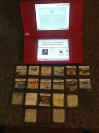 Limited edition red Nintendo dsi xl excellent condition comes with 21 games £65 Ono
