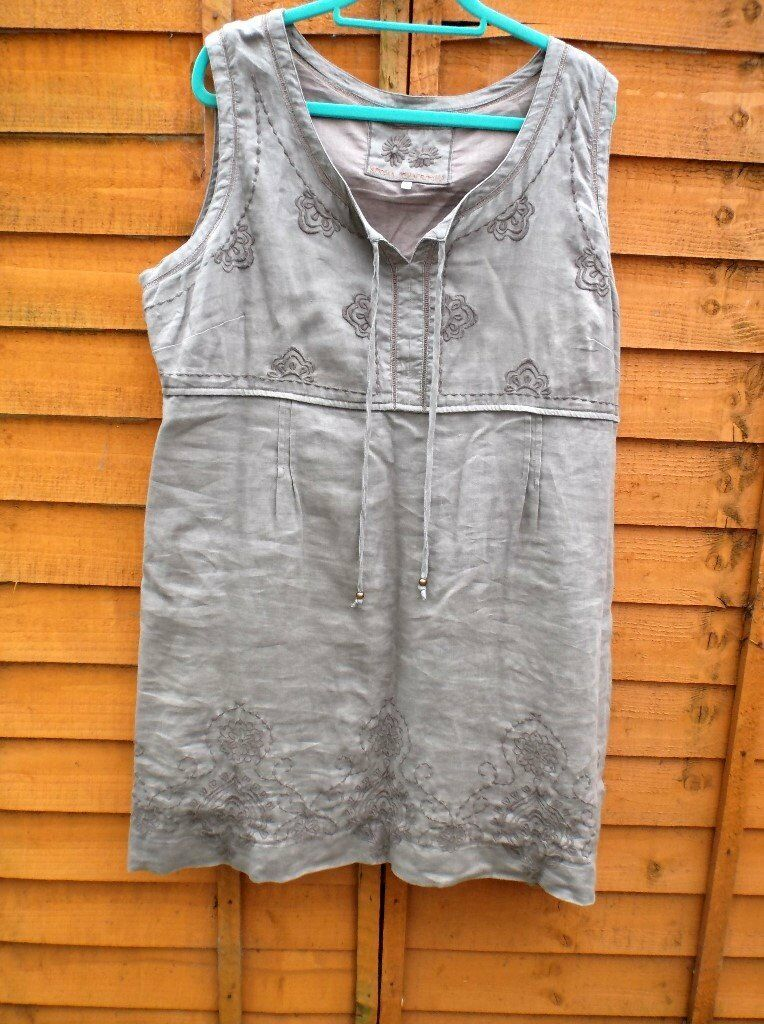 b5b41c02396aa JRJ John Rocha sleeveless empire line short dress size 22 | in ...