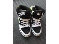 DC Men's Spartan High Tops Size 9