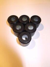 19 x 17mm 12.5g original 125 rollers 4353895 Piaggio,Gilera,Vespa,Aprilia,-NEW