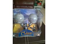 Corgi diecast Golden compass airship with figure,mint boxed